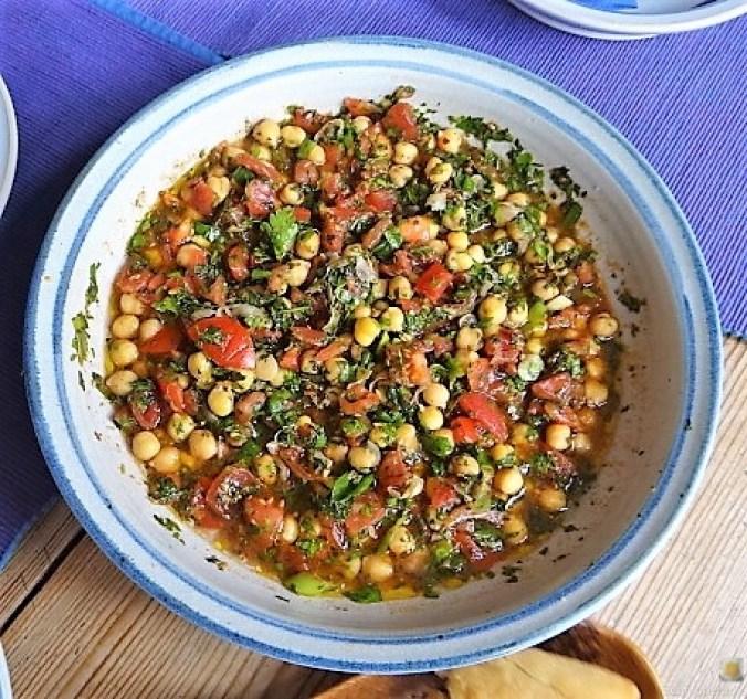 Kichererbsensalat mit Guacamole (1)