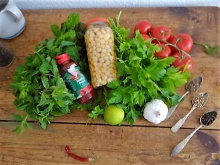 Kichererbsensalat mit Guacamole (10)