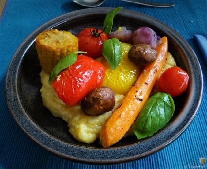 Polenta mit Ofengemüse (3)
