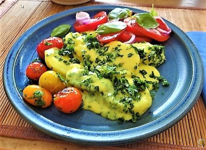 Béchamelkartoffeln und Tomaten (26)
