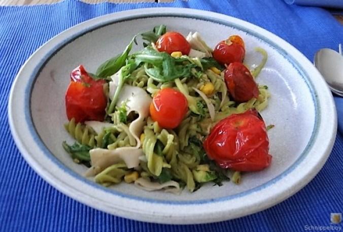 Buchweizenpasta mit verschiedenen Gemüsen (15)