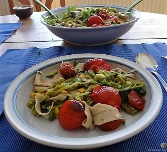 Buchweizenpasta mit verschiedenen Gemüsen (5)