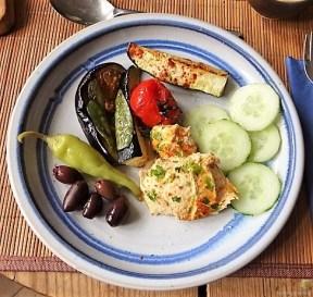 Hummus und Ofengemüse (23)