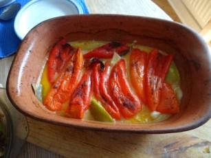 Spitzpaprika in Kokosmilch mit Minizucchini und Reisnudeln (11)