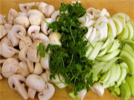 Champignon,Lauch, Kürbis und Eierpfannkuchen (12)