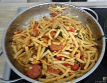 Chorizo, Spinat-Tomaten, Pasta (28)