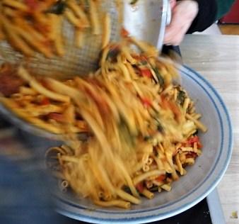 Chorizo, Spinat-Tomaten, Pasta (31)