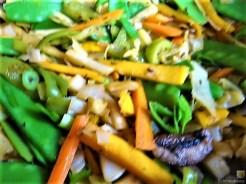 Gemüsepfanne und Ofenkartoffeln (15)