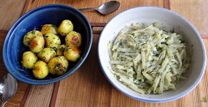 Röstkartoffeln und Gemüse (15)
