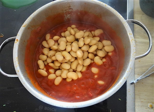 Köfte,Tomaten-Bohnensalat (14)