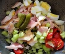 Salat von der geräucherten Forelle (11)