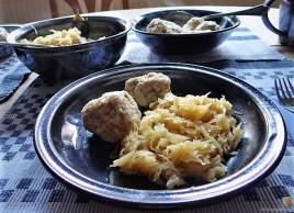 Schinkenknödel mit Sauerkraut (18)