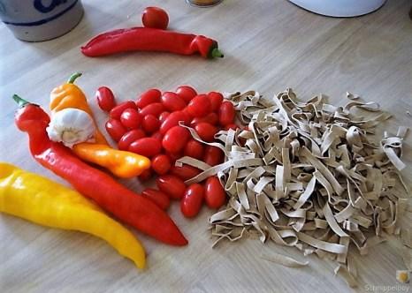 Spitzpaprika,Tomaten,Pappardelle (10)