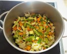 Gemüsesuppe leicht orientalisch gewürzt (12)