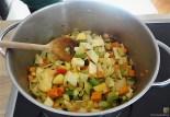 Gemüsesuppe leicht orientalisch gewürzt (13)