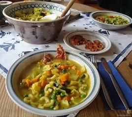 Gemüsesuppe leicht orientalisch gewürzt (19)