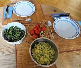 Hackfleischspieße (Schisch Kufta) und Couscous (21)