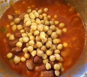 Kichererbsen in scharfer Tomatensaucen (16)