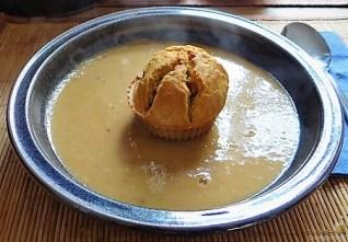 Maronensuppe mit Muffins (29)