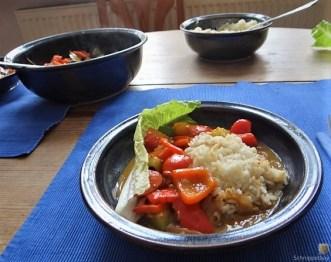 Paprika in Kokosmilch und Reis (21)