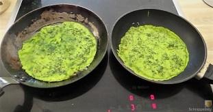 Spinatpfannkuchen mit Salaten (16)