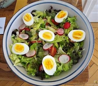 Gemischter Salat und Röstkartoffeln (9)