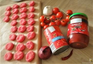 Gnocchis mit Tomatensauce und Muscheln (8)