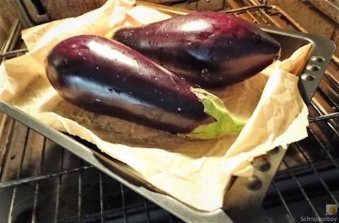 Baba Ganoush und Salat (10)