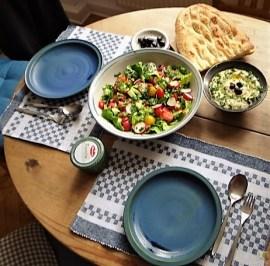 Baba Ganoush und Salat (23)