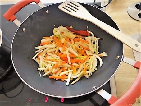 Gemüse in Kokosmilch mit Glasnudeln (11)