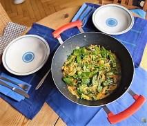 Gemüse in Kokosmilch mit Glasnudeln (11a)