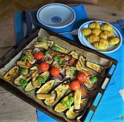 Ofengemüse und Fächerkartoffeln (20)
