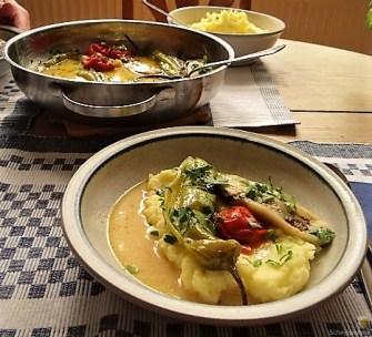 Geschmortes Gemüse mit Kartoffelstampf (13)