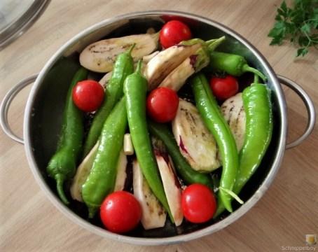 Geschmortes Gemüse mit Kartoffelstampf (9)