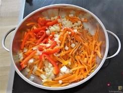 Gemüse-Portulakpfanne mit Joghurtdip (15)