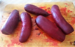 Matjes Tatar, Rote Bete Salat, Radieschensalat, Kartoffeln, (14)
