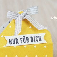 Anleitung: Kleiner Korb mit dem Envelope Punch Board