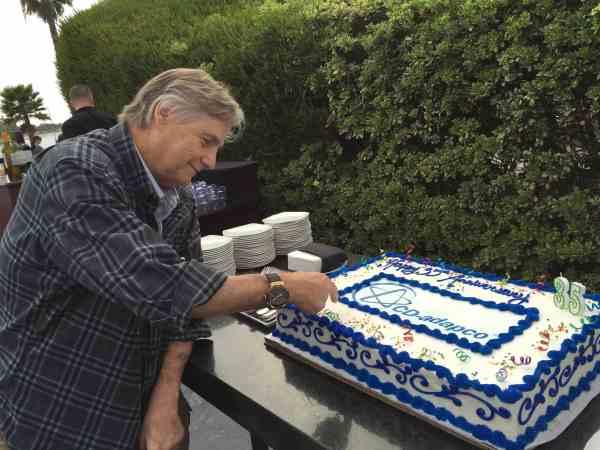 Steve and cake
