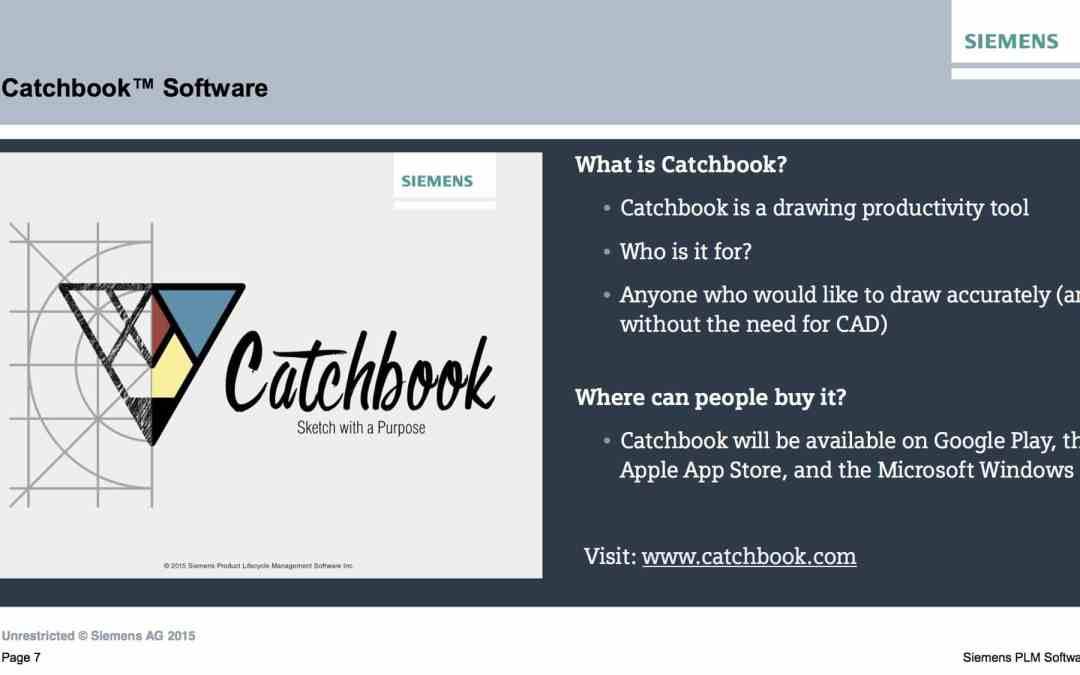 Siemens PLM Catchbook is the tip of the iceberg