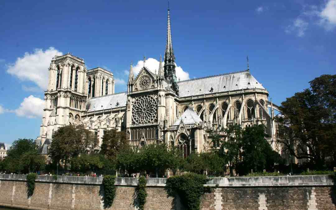 Helping to rebuild Notre Dame