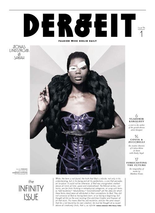 Cover von DERZEIT, Juli 2010 - The Infinity Issue