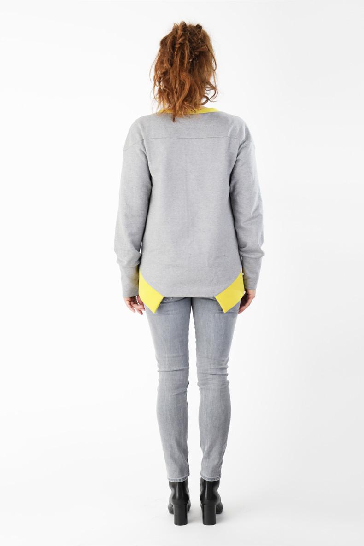 Schnittmuster für ein cooles Shirt Rückansicht