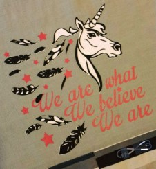 Einhörner Believe in Unicorns