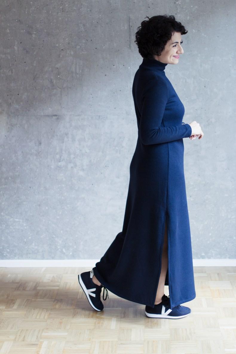 Schnittmuster Maxikleid Modular Collection - Schnittduett - Moderne Schnittmuster für Damen, die minimalistische Mode lieben