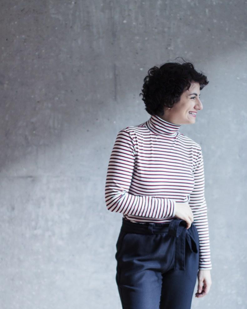 Nähanleitung und Schnittmuster Rollkragenshirt und Rollkragenpullover Modular Collection - Schnittduett - Moderne Schnittmuster für Damen, die minimalistische Mode lieben