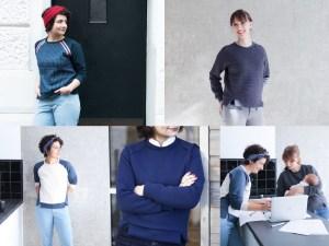 Schnittmuster Sweatshirt Wrapped Schnittduett - Raglan Sweatshirt Damen nähen - Moderne Schnittmuster für Damen zum Selbernähen