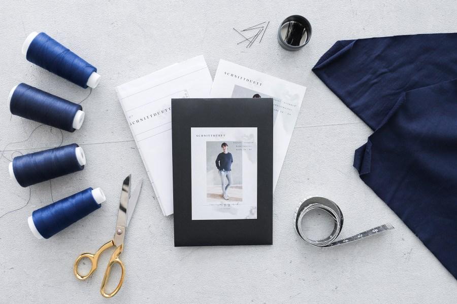 Schnittmuster Sweatshirt Wrapped Sewalong - Stoffauswahl für Sweater Wrapped - Schnittduett