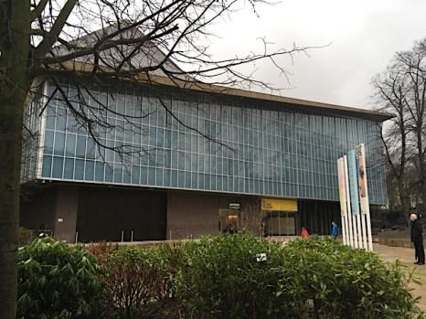 New Design Museum London - Eingang