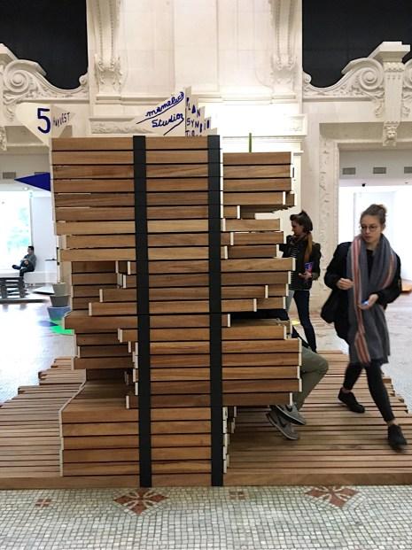 """Mameluca studio """"Plan Symbiotique"""" DDays Musée des Arts Decorativs 2017   Foto: Schnuppe von Gwinner"""