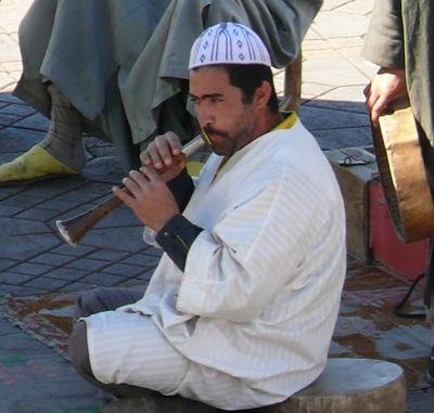 Schlangenbeschwrer_marokko_jemaa_el